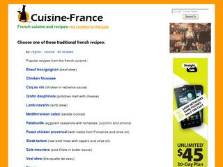 French Cuisine and Recipes