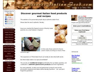 Foods in Italy